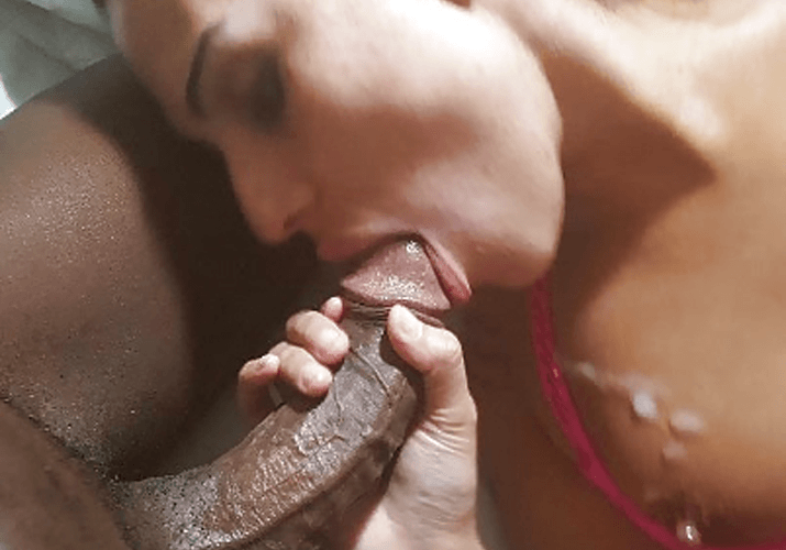 Your wife likes black cock more