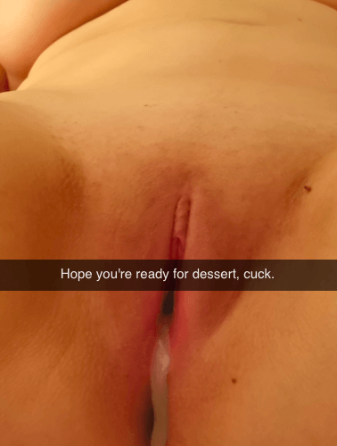 Cuckold Cleanup Snapchat