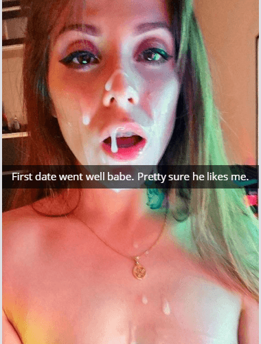 Wife's first Tinder date ends in Snapchat facial