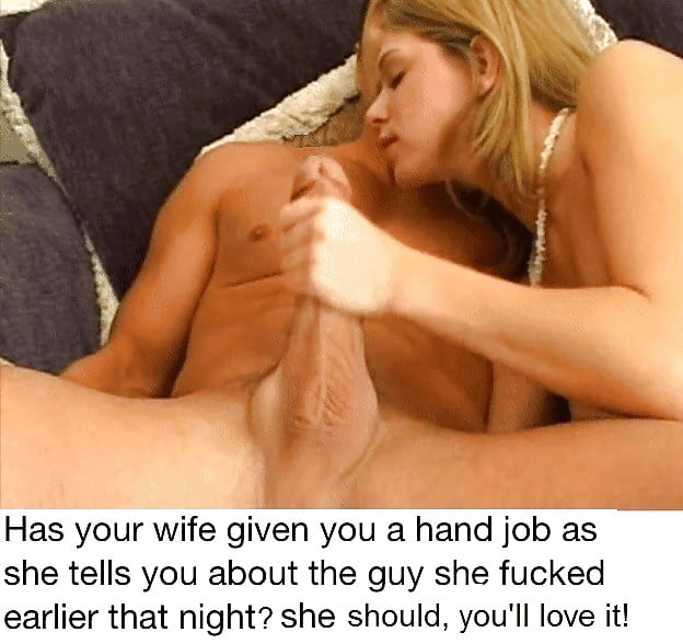 Wife Tells You About Other Men While Jerking You Off